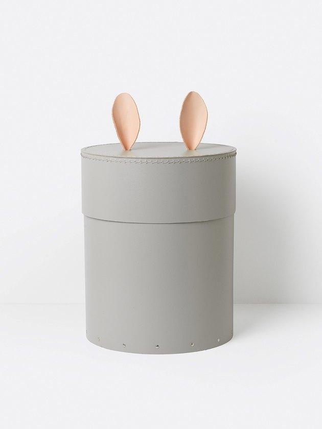 rabbit storage box for children's nursery