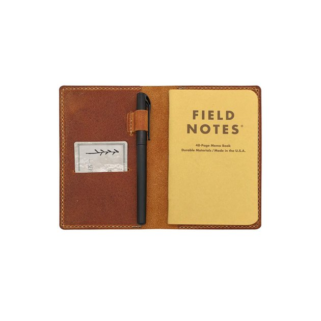 newestor handstitched leather notebook