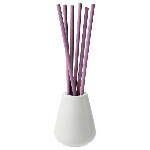 Njutning Vase and Lavender Scented Sticks, $5.99