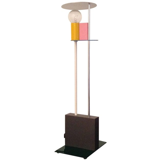 Memphis Design style lamp designed by Gerard Taylor