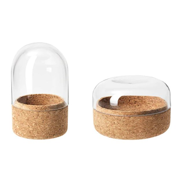 Sammanhang Glass Domes (set of two), $9.99