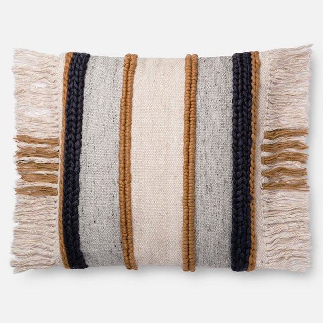 texture boho pillow
