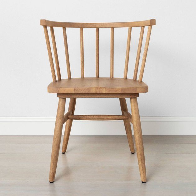 light wood dining chair