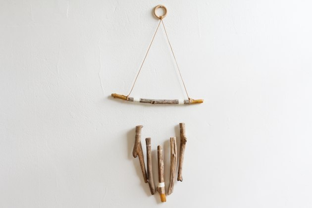 Driftwood wall hanging.