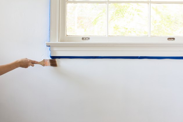 Painting wall with primer