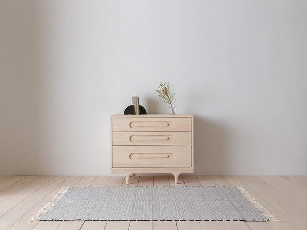 dresser for nursery storage