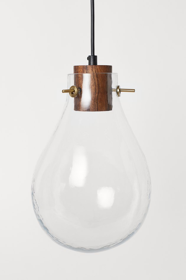 Pendant light from H&M Home's 2020 collection
