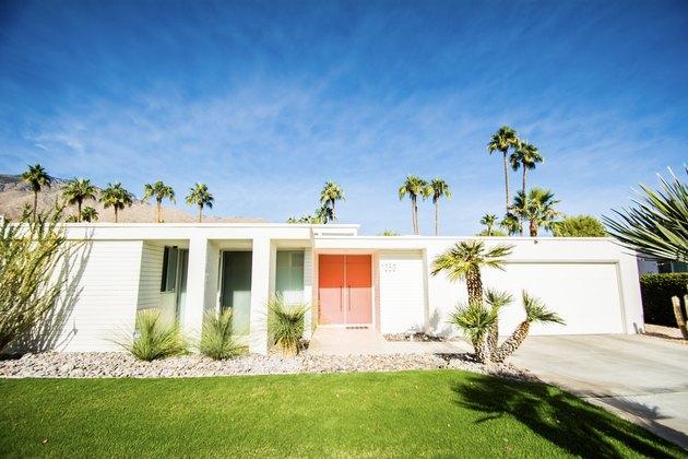 palm springs ranch-syle home