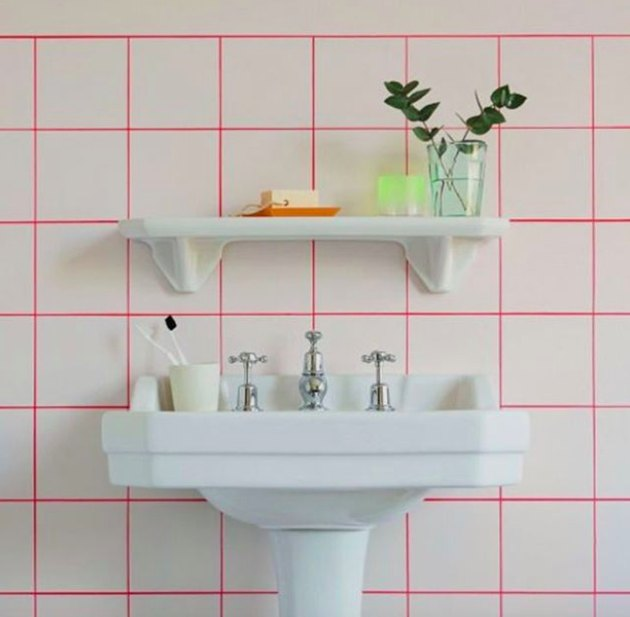 pink grout