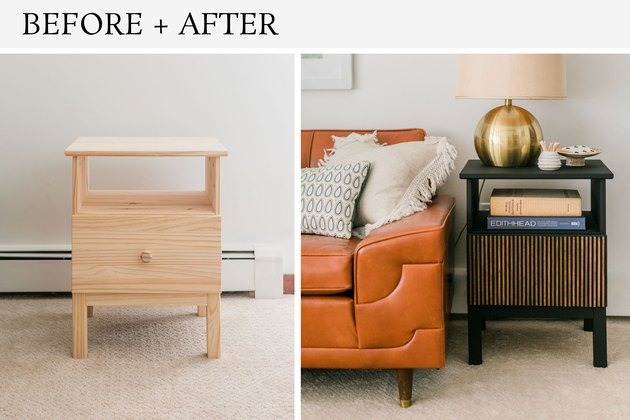 Can you believe this before-and-after image is the same table?!
