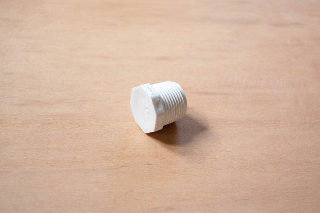 3/4-inch pvc plug