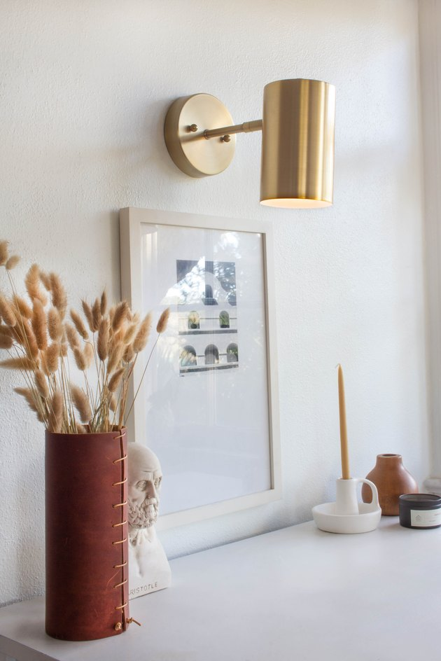 wireless wall sconce hack