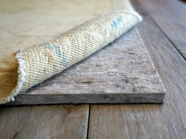 Carpet with underpadding.