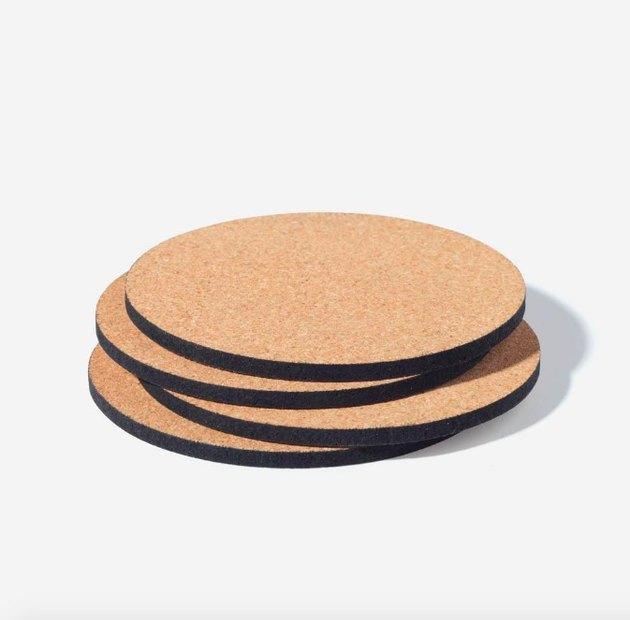 Unison Cork Coasters (set of four), $2.95