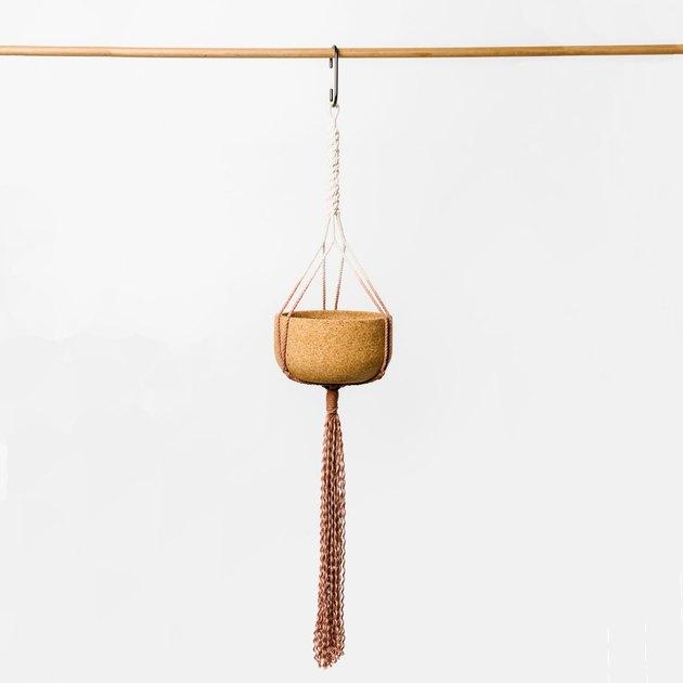 Melanie Abrantes Hanging Cork Planter, $250