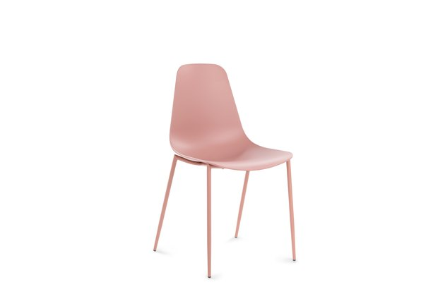 pink dining chair