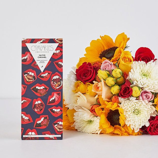 chocolate and bright bouquet
