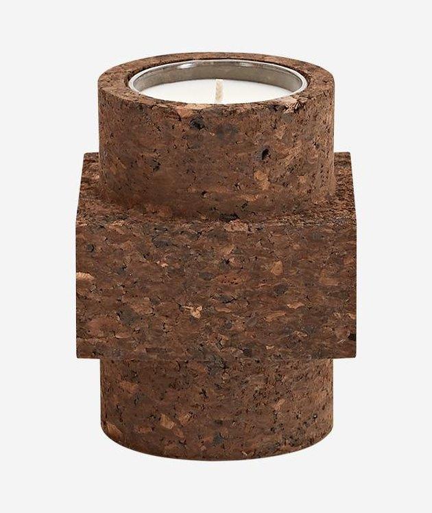 Tom Dixon Cork Candle, $100