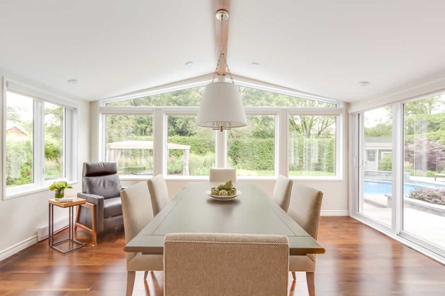 Transitional Dining Room Lighting Hibou Design & Co.