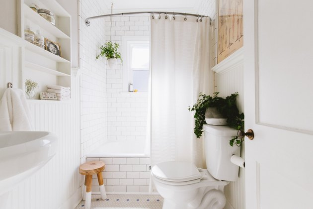 Farmhouse Shower Ideas Grit and Polish