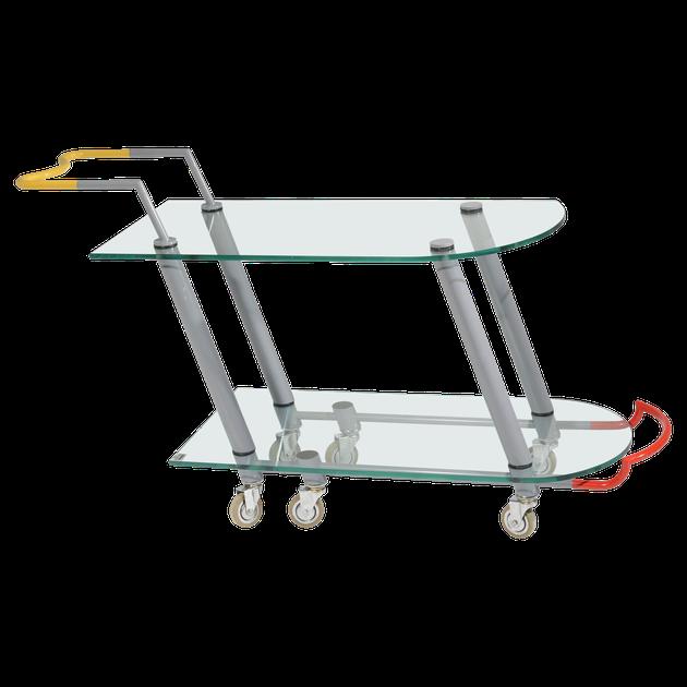 memphis design style cart