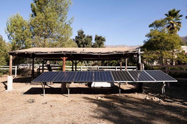 Sol Haus Design tiny home solar panel.