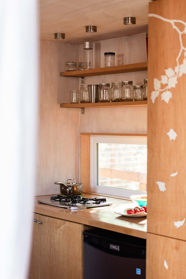 Sol Haus Design tiny home kitchen