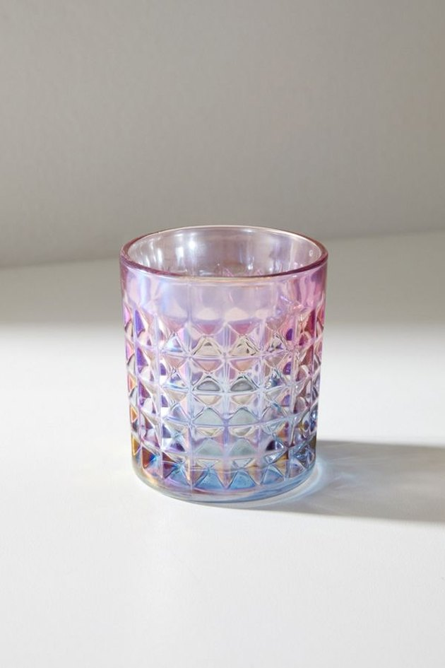 holographic-colored glass