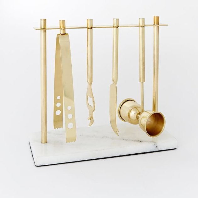West Elm Deco Bar Tools Set