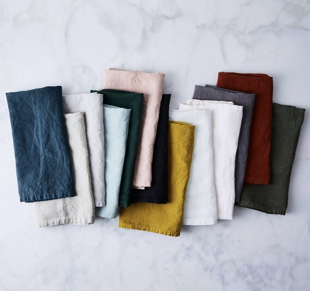 Hawkins New York Stonewashed Linen Napkins