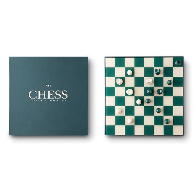 West Elm Chess Set
