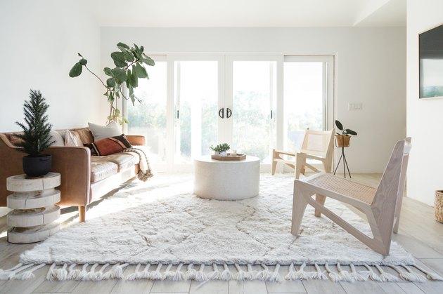 Neutral palette living room