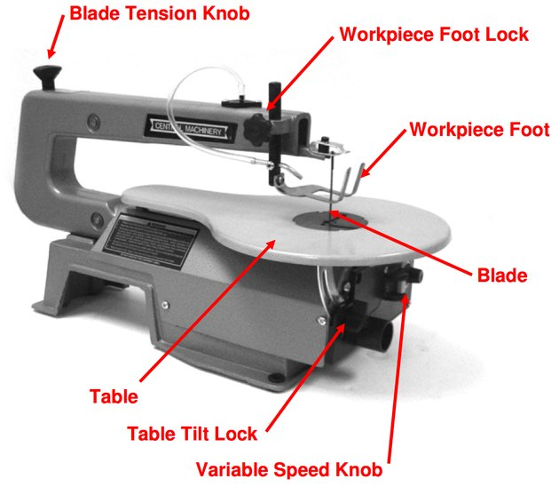 Scroll saw schematic.
