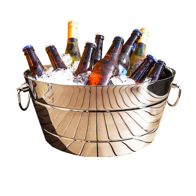 steel beverage tub