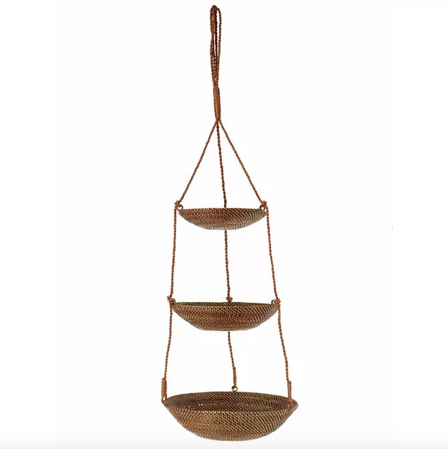 bay isle home suzan hanging basket