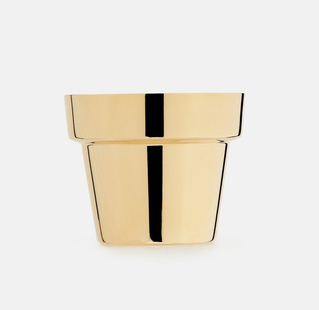 Skultuna Brass Herb Pot, $75