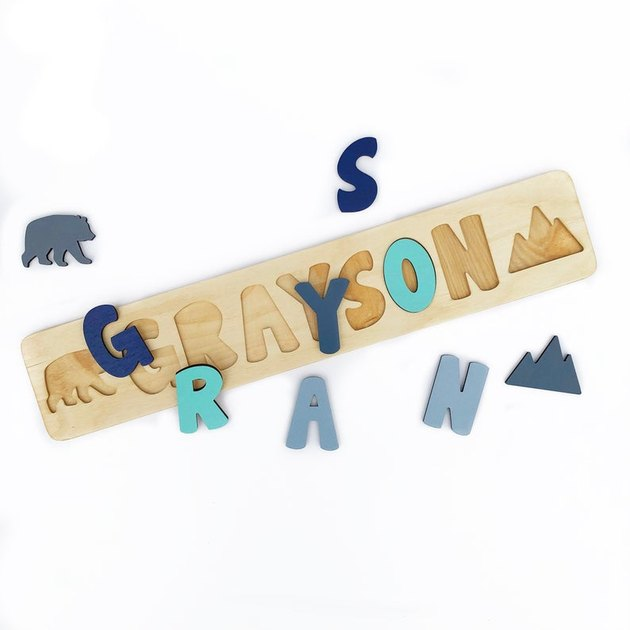 puzzle of the name grayson