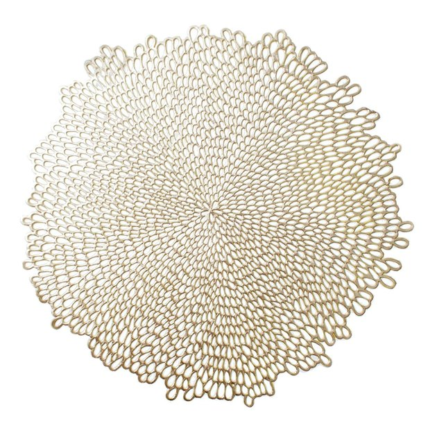 gold blossom placemat