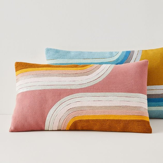 West Elm Reflecting Curves Pillow Cover