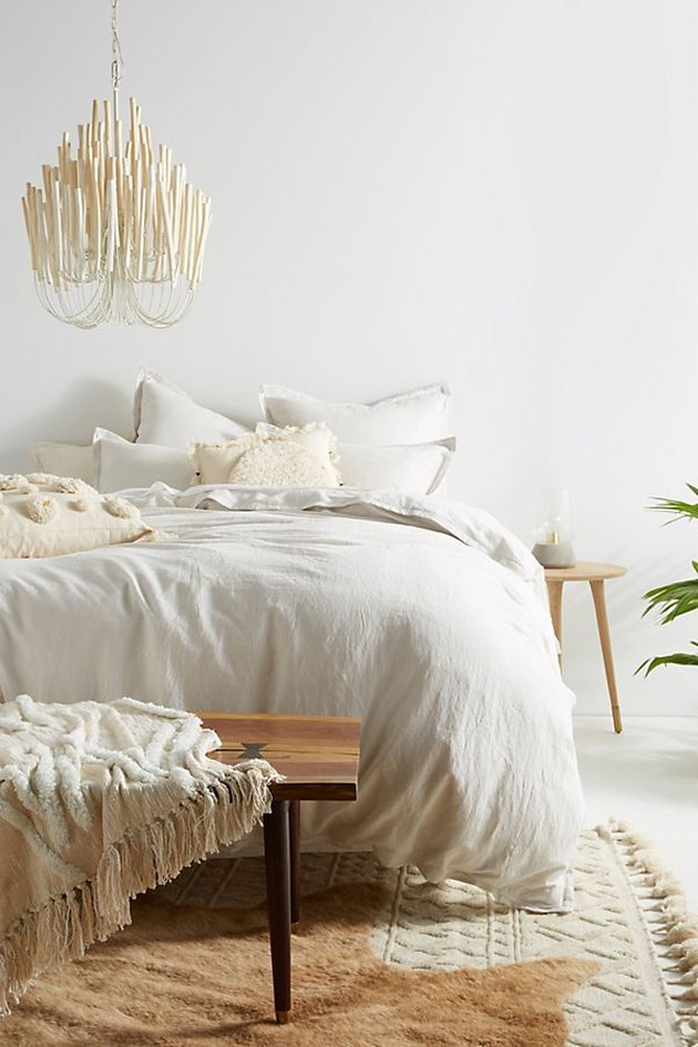 boho cotton linen bedding