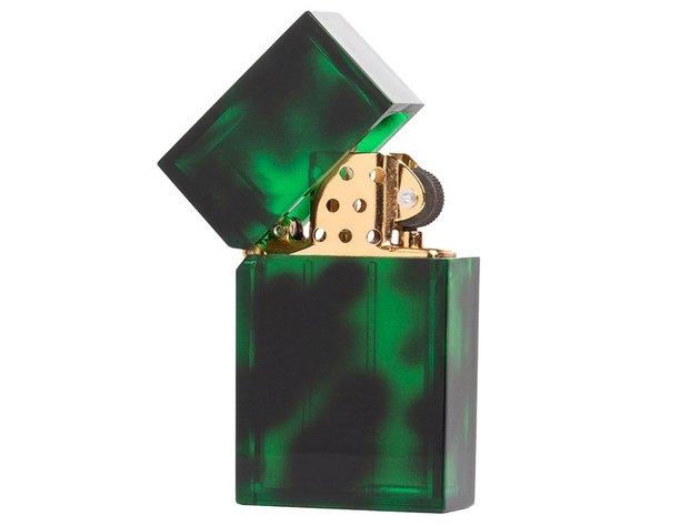 Tetra Green Tortoise Lighter