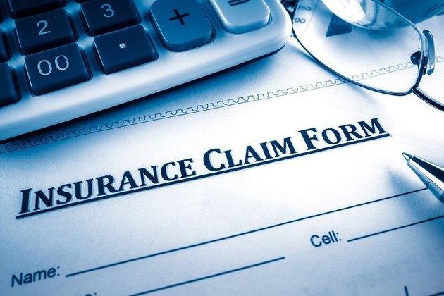 Filing insurance claim.