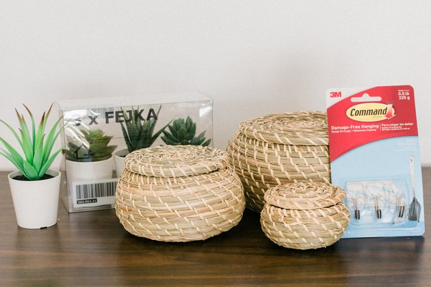 Here's what you'll need to make your plant shelves.