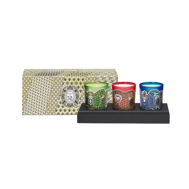 diptyque candle set of 3