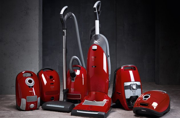 red vacuum cleaners