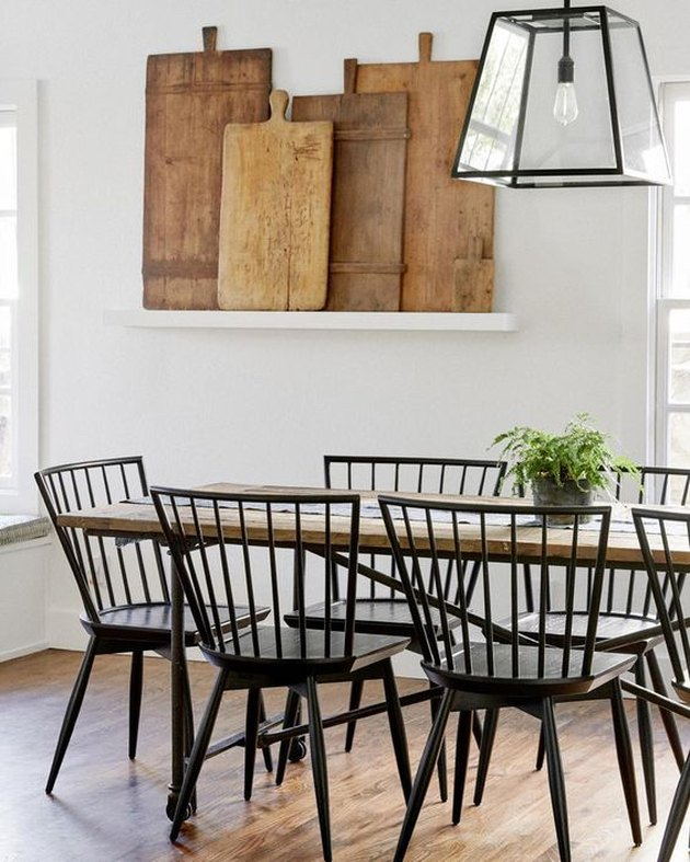 modern dining room idea