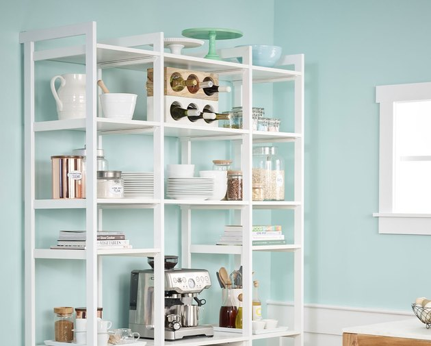 Kitchen pantry from California Closets by Martha Stewart