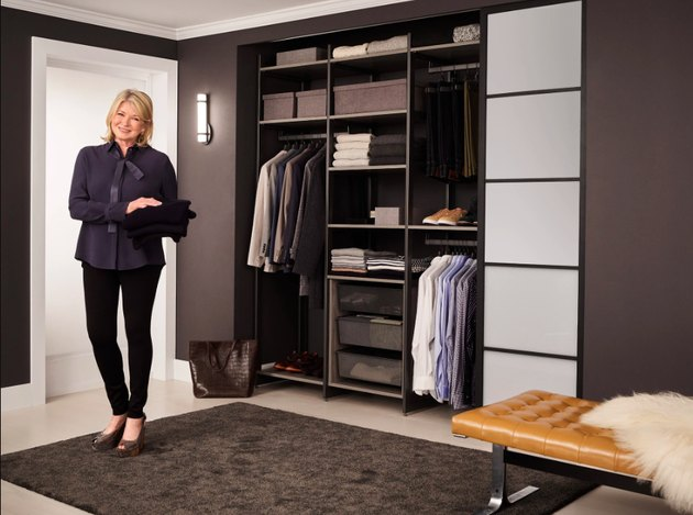 Martha Stewart's new collection for California Closets