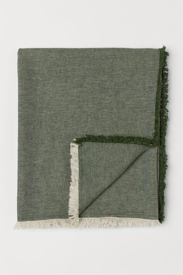 H&M Home Linen-blend Blanket