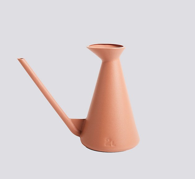 Hay terracotta watering can